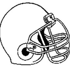 nfl football helmet coloring pages nfl standard football coloring page color luna