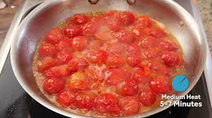 easy pasta sauce quick and easy pasta with cherry tomato sauce youtube