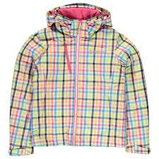 colmar kids 88os junior girls ski jacket waterproof hooded full