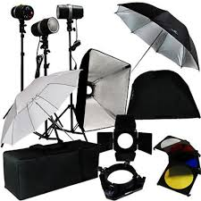 photography strobe lights for sale 3 studio photo flash strobe light stand kit w softbox umbrella
