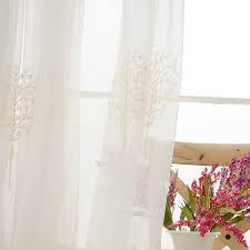 Thermal Pinch Pleated Draperies Tree Pastoral Elegant Thermal Long Pinch Pleated Curtains