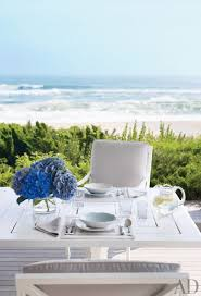 Hamptons Style Outdoor Furniture - hamptons home coastal style beach house interior design