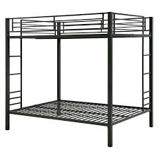 DHP Zurich Full Over Full Bunk Bed Hayneedle - Metal bunk bed with desk