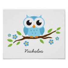 eulen kinderzimmer owl personalized nursery wall for boys owl nursery