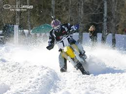 snow motocross bike ground zero snow bike race report motorcycle usa