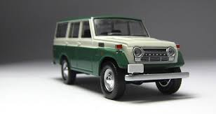 vintage toyota 4x4 model of the day tomica limited vintage toyota land cruiser fj56v