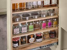 cabinet pull out shelves kitchen pantry storage kitchen bath organization waypoint living spaces