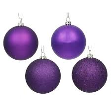 4 inch assorted ornaments box of 12 balls vck3833