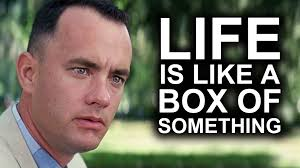 Life Is Like A Box Of Chocolates Meme - life is like a box of chocolates yiay 247 youtube