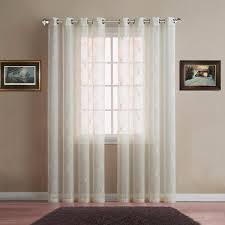 warm home designs embroidered sheer curtains in 5 colors and 3