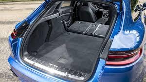 porsche panamera trunk 2017 porsche panamera sport turismo e hybrid first drive stylish