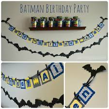 alluring batman birthday banner hd images for your invitation