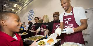 2015 okc thanksgiving westbrook why not foundation