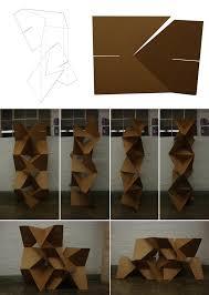 Cardboard Origami - cardboard origami wall 3 by scottdpenman on deviantart