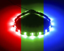 rgb led light strips cablemod widebeam magnetic rgb led strip u2013 30cm cablemod