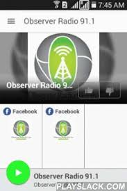 the voice app android observer radio 91 1 android app playslack plays observer