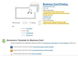 Dimensions For Business Cards Web To Print Software Web To Print U0026 Dynamic Imaging Directory