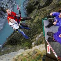 New Zealand Chair Swing The Chair Jump Shotover Canyon Swing Queenstown