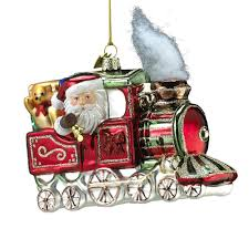 25 glass train christmas ornaments toy train center