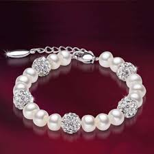 swarovski bracelet with pearls images Santorini pearl swarovski bracelet amosh european jewellery jpg