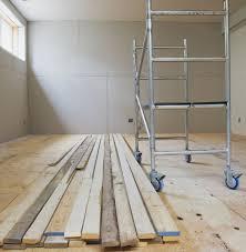 Flooring For Basements That Flood Basement Subfloor Options For Dry Warm Floors