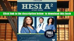 read online hesi a2 study guide hesi exam prep and practice test
