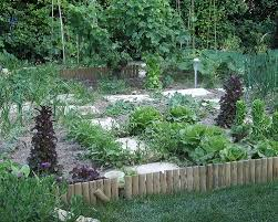 a french vegetable garden for an american gardener