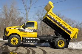Ford F 250 Tonka Truck - check out the mighty ford f 750 tonka truck the fast lane truck