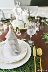 napkin folding for thanksgiving dinner christmas tree napkin fold tutorial sand and sisal