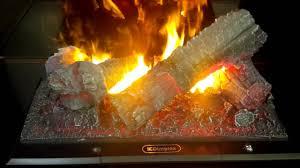 lifelike flame and smoke fireplace youtube