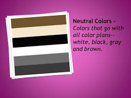 Colors That Go With Purple by Intensity The Brightness Or Dullness Of A Color Chroma The
