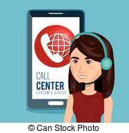 Customer Help Desk Vector Clipart Of Customer Service Online Support Help Desk