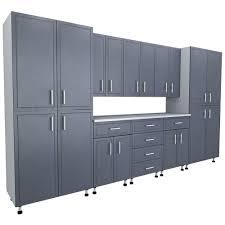 Home Depot Shelves Garage by Duracabinet All Steel 100 In W X 74 In H X 20 In D Garage