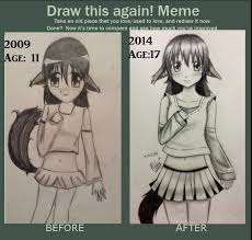 Meme Neko - draw this again meme by kawaii little neko on deviantart