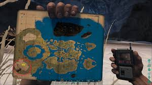 Find Map Coordinates Ark Survival Evolved The Center Map Caves Locations Map