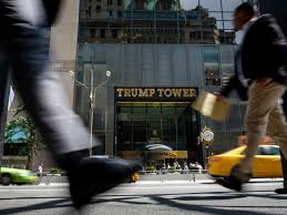 donald trump in nyc street closures curbed ny
