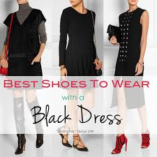 the black dress fashionable shoes to wear with black dress 2018