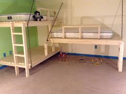 diy triple bunk bed plans home design ideas