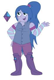 blue opal gemsona gemsona tanzanite krysta by strawberry spritz on deviantart