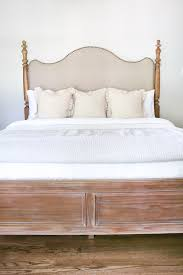 How To Update Pine Bedroom Furniture Master Bedroom Update Pickled Pine Furniture Bless U0027er House