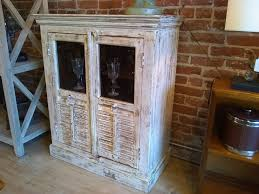 Distressed Wood Bar Cabinet Chic Distressed Wood Bar Cabinet Ballard Consignment