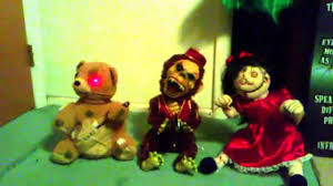 sailor spirit halloween spirit halloween deady bear monkey chimes evil rag doll youtube