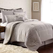 Free Bed Sets Amraupur Overseas Camila Pleated 8 Comforter Set Free