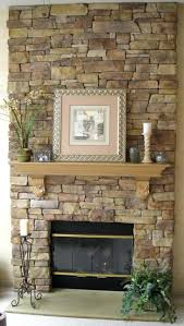 white grey stone fireplace hearth decor feat mantel twin brown