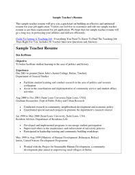 A Sample Of Resume For Job by Example Resume For Job Application
