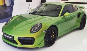 porsche viper green porsche 911 turbo s with paint worth over 90k most expensive ever