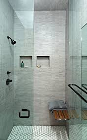 patterned glass shower doors bathroom minimalist modern half bathroom design with compact