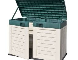 garden storage box homebase home outdoor decoration