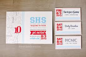 50th high school class reunion invitation 10 yr high school reunion invitation design casa de lewis