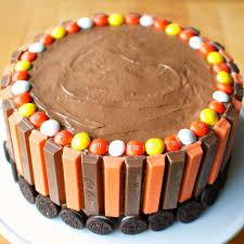 Chocolate Orange Halloween Cake Kit Kat Cake A Bajillian Recipes